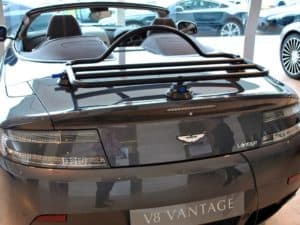 Aston Martin V8 Vantage Convertible Luggage Rack