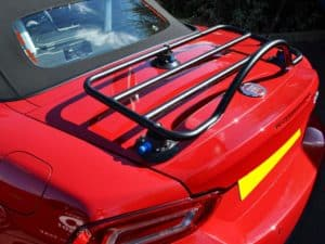 Car Boot Racks For Convertibles : Fiat Spider Luggage Rack