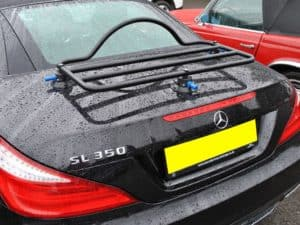 Universal Car Luggage Rack Revo Rack Fitted to Mercedes SL 350