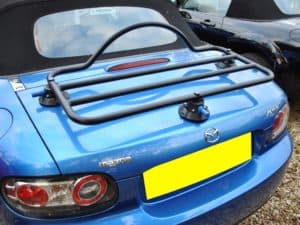 Car Luggage Rack Revo Rack Fitted to MK3 Mazda MX5