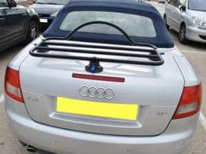 audi a4 convertible luggage rack