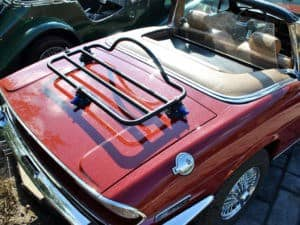 Triumph Stag Luggage Rack overhead view