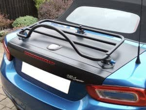 Abarth 124 spider luggage rack