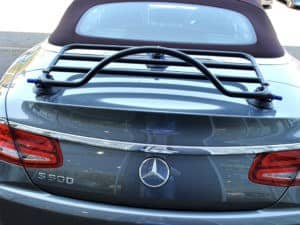 Mercedes S Class Convertible Luggage Rack