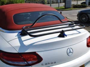 Mercedes Convertible Luggage Rack on C Class
