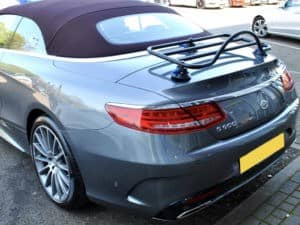 Mercedes Convertible Luggage Rack on s class