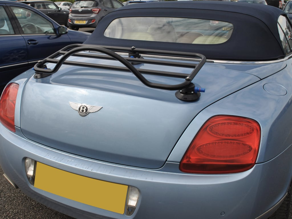 revo rack luggage rack fitted to bentley continental gt cabriolet