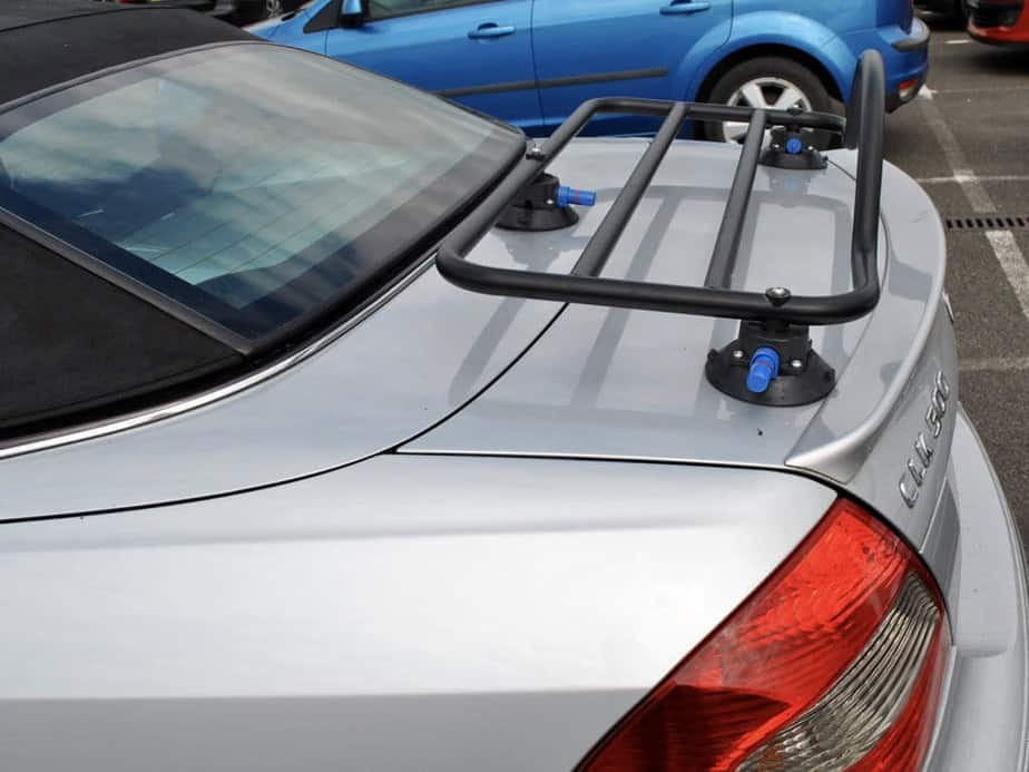 mercedes benz clk cabriolet luggage rack