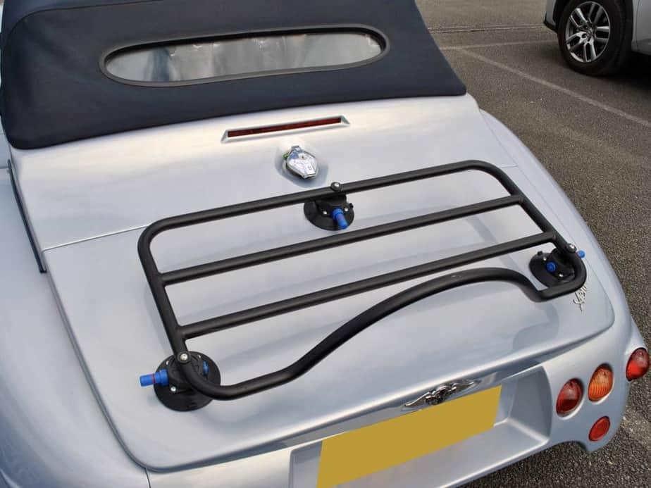 morgan aero 8 luggage rack