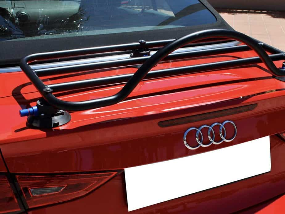 audio a3 cabriolet boot rack