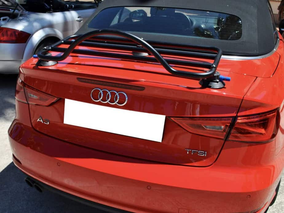 audi a3 convertible boot luggage rack