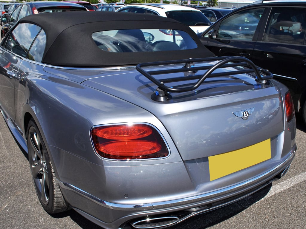 bentley continental luggage rack
