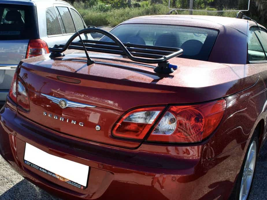 Chrysler Sebring Convertible Luggage Rack
