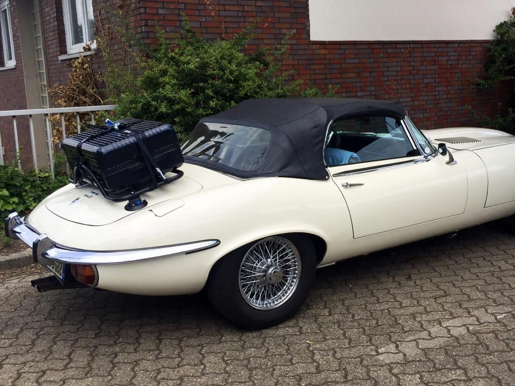 jaguar e type boot luggage rack