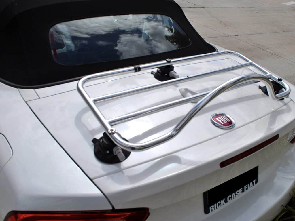 Fiat 124 Abarth Spider Luggage Rack No Clamps No Paint