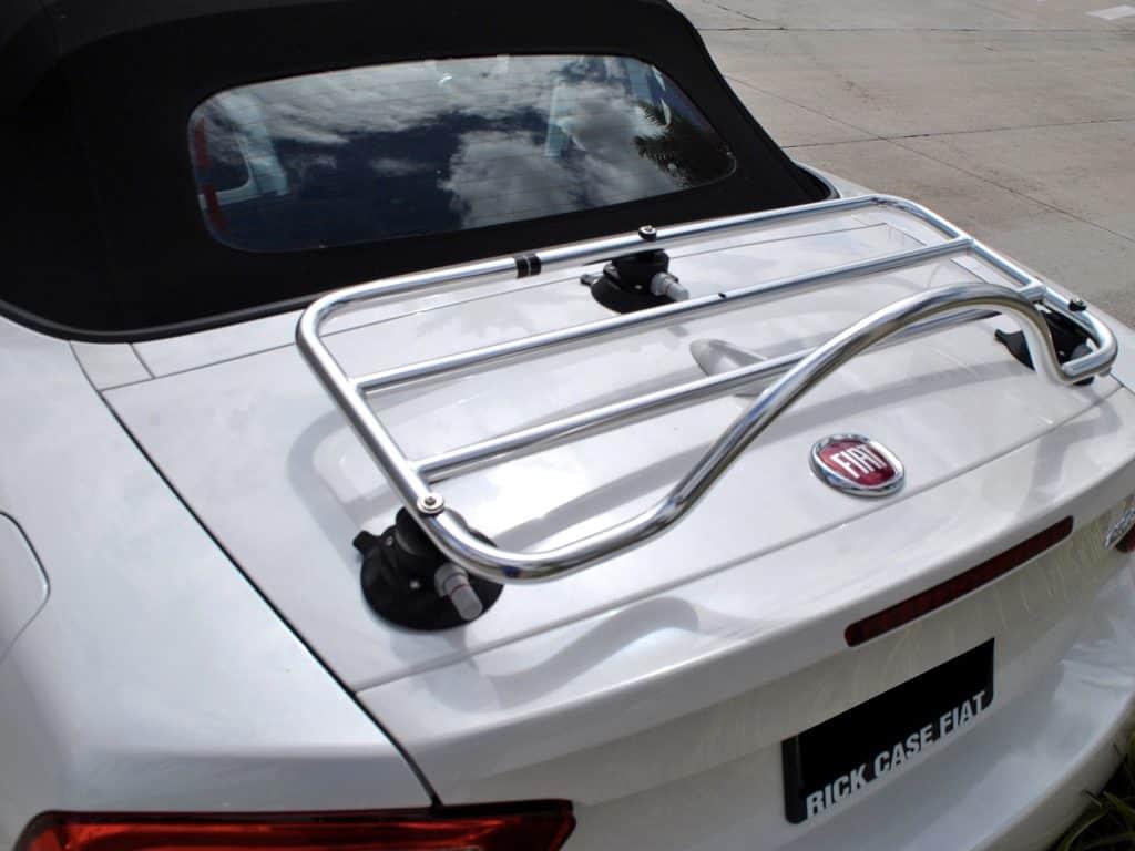 Fiat 124 spider abarth luggage deck rack