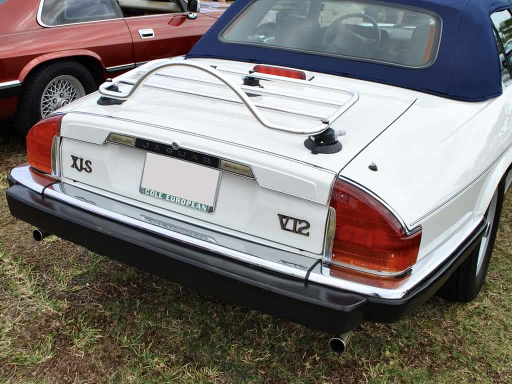 jaguar xjs cabrioler trunk deck luggage rack