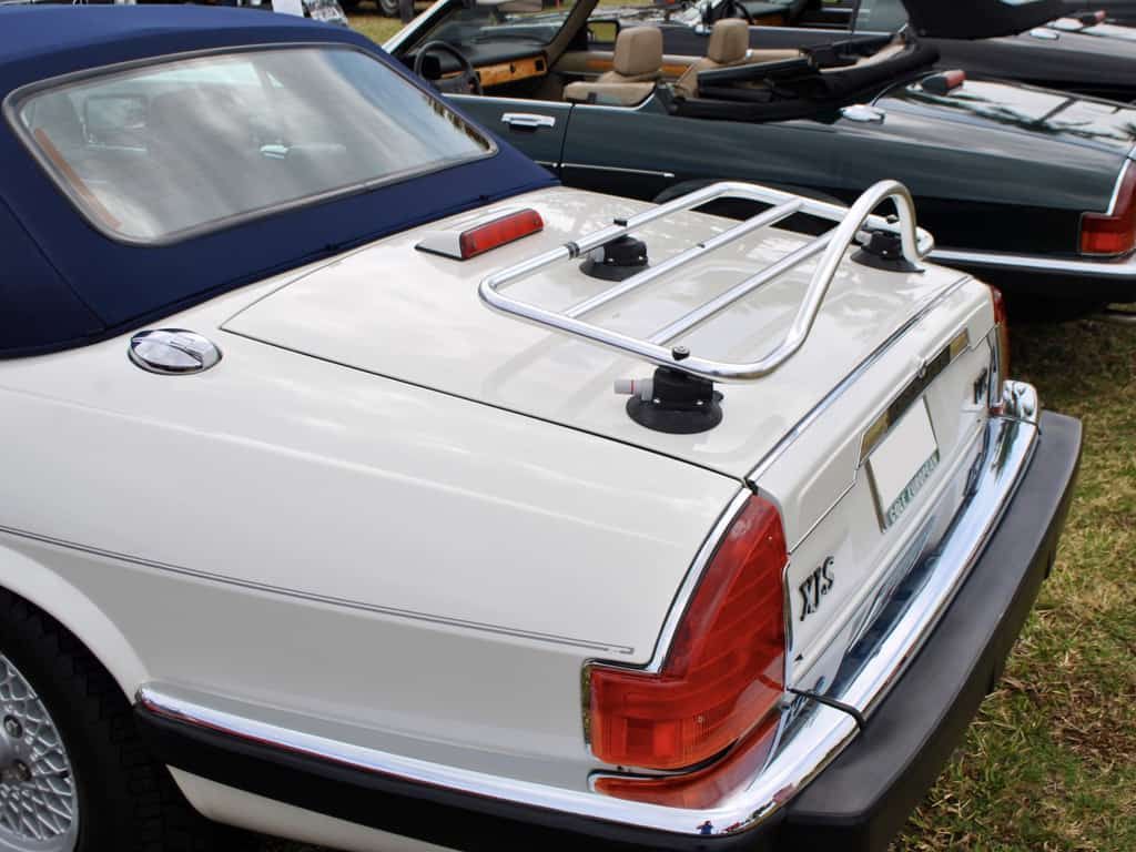jaguar xj-s luggage deck trunk boot rack carrier