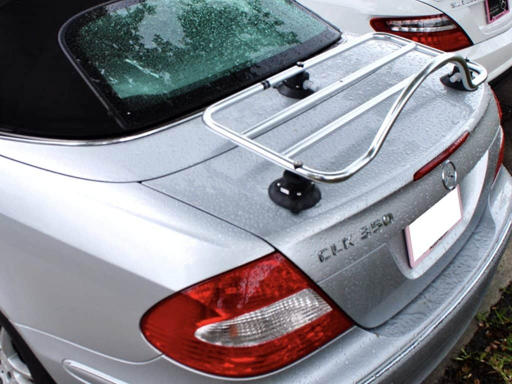 revo-rack mercedes benz cabriolet boot rack