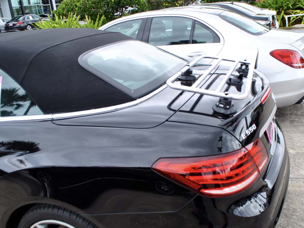 mercedes benz cabriolet luggage rack