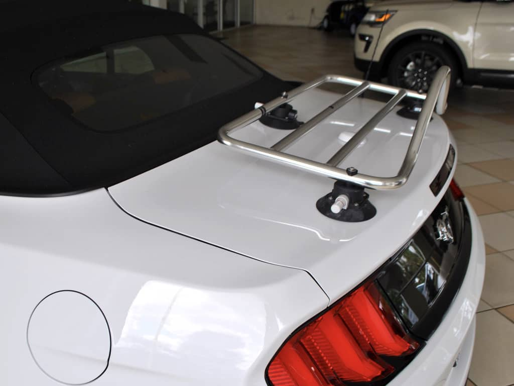 ford mustang convertible deck rack