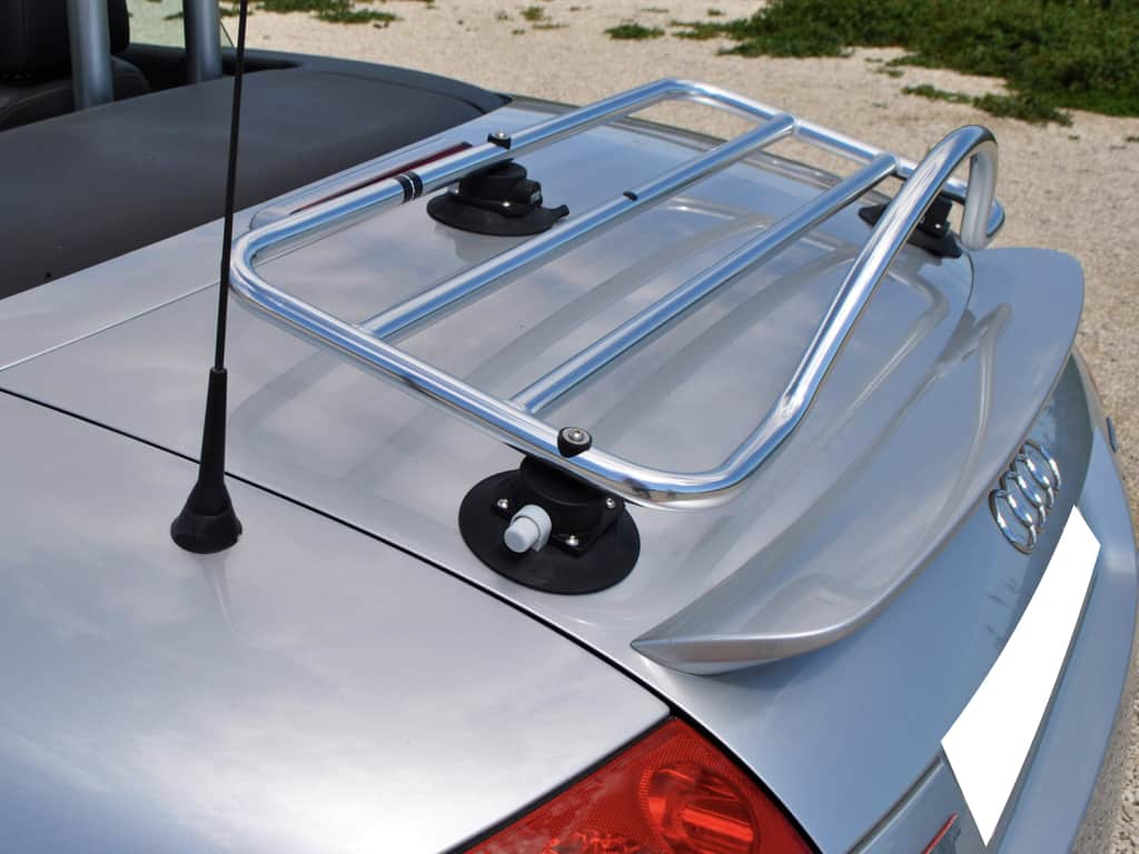 audi tt mk1 roadster stainless steel luggage rack