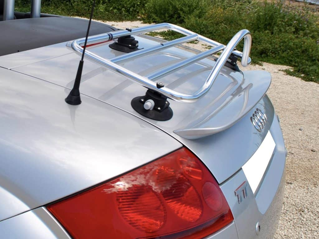 smart roadster stainless steel luggage rack