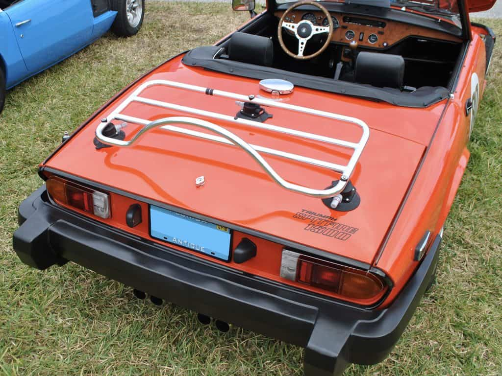 triumph stag stainless steel boot rack