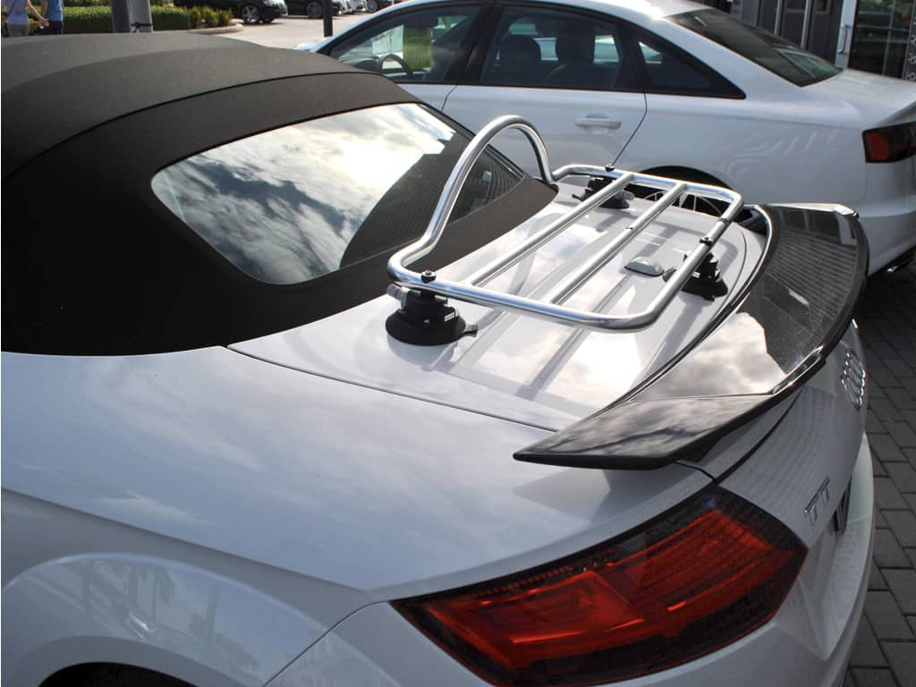 audi tt roadster stainless steel luggage rack