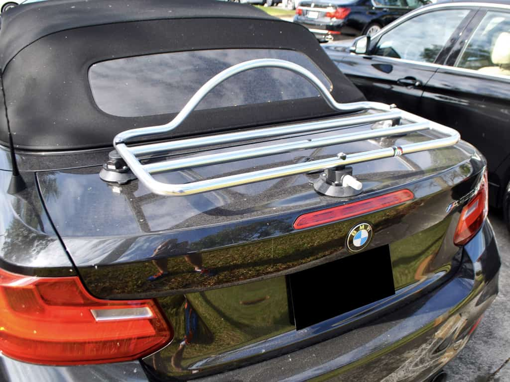 bmw 1 series stainless steel luggage rack