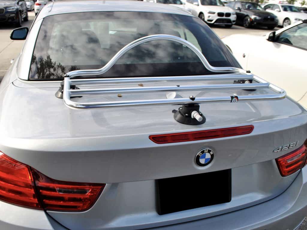 stainless steel luggage rack for bmw 4 series convertible