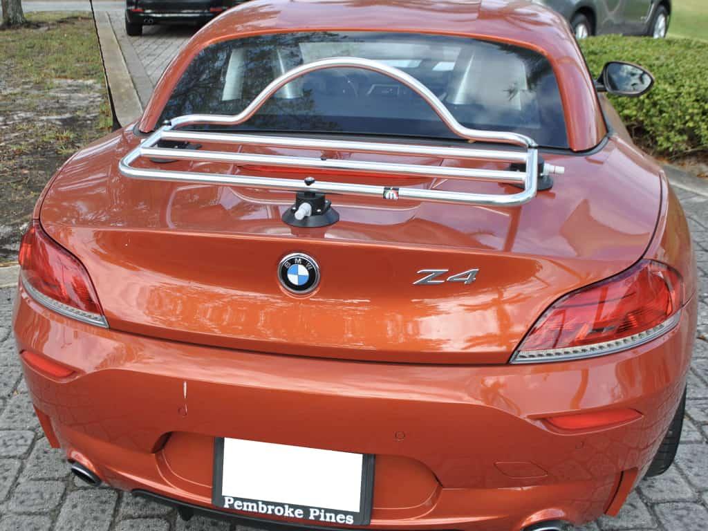 bmw z4 e89 stainless steel luggage rack