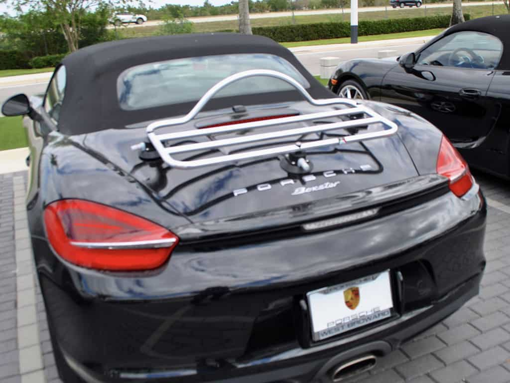 Porsche Boxster 981 Luggage Rack 2012 2013 2014 2015