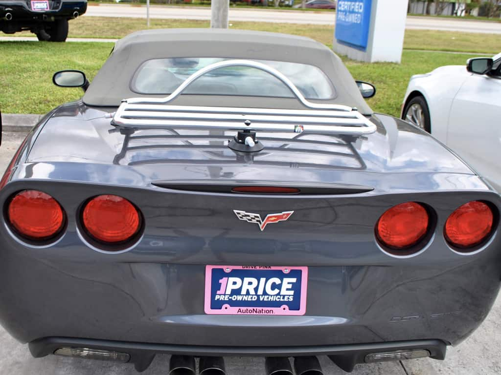 Corvette C6 Convertible Luggage Rack