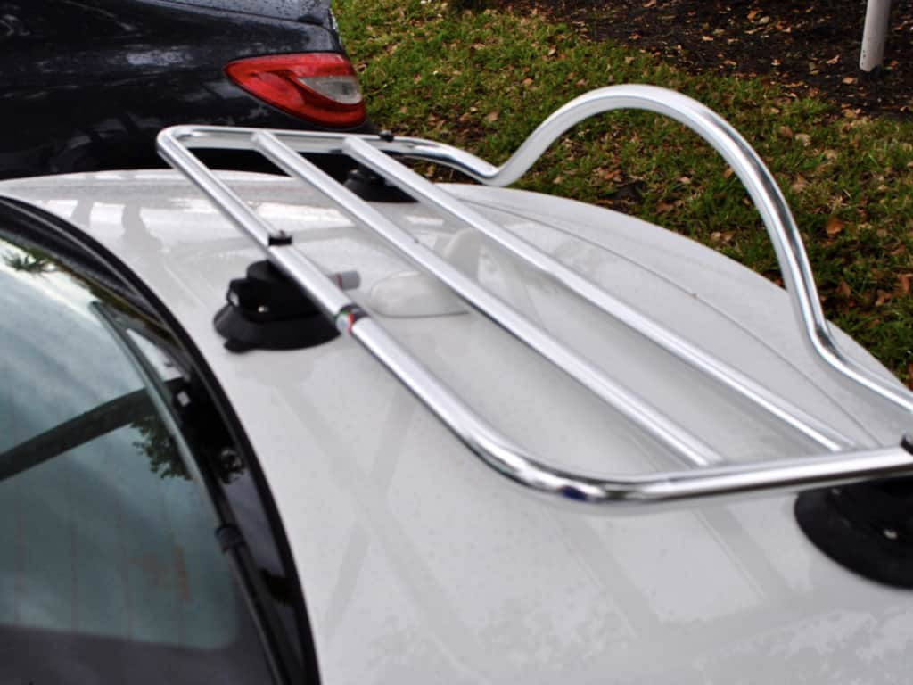 mercedes benz slk stainless luggage carrier