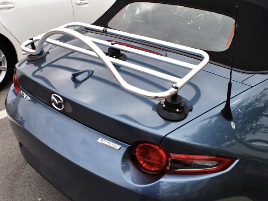 revo-rack miata nd trunk deck luggage rack