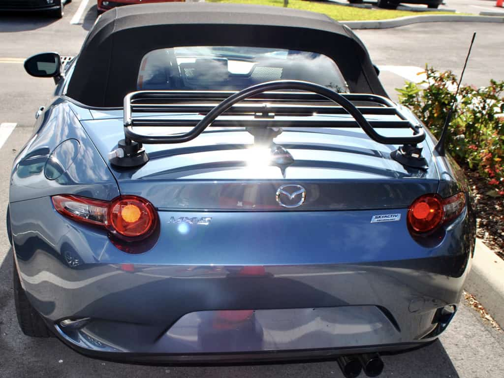mazda miata ND trunk luggage rack