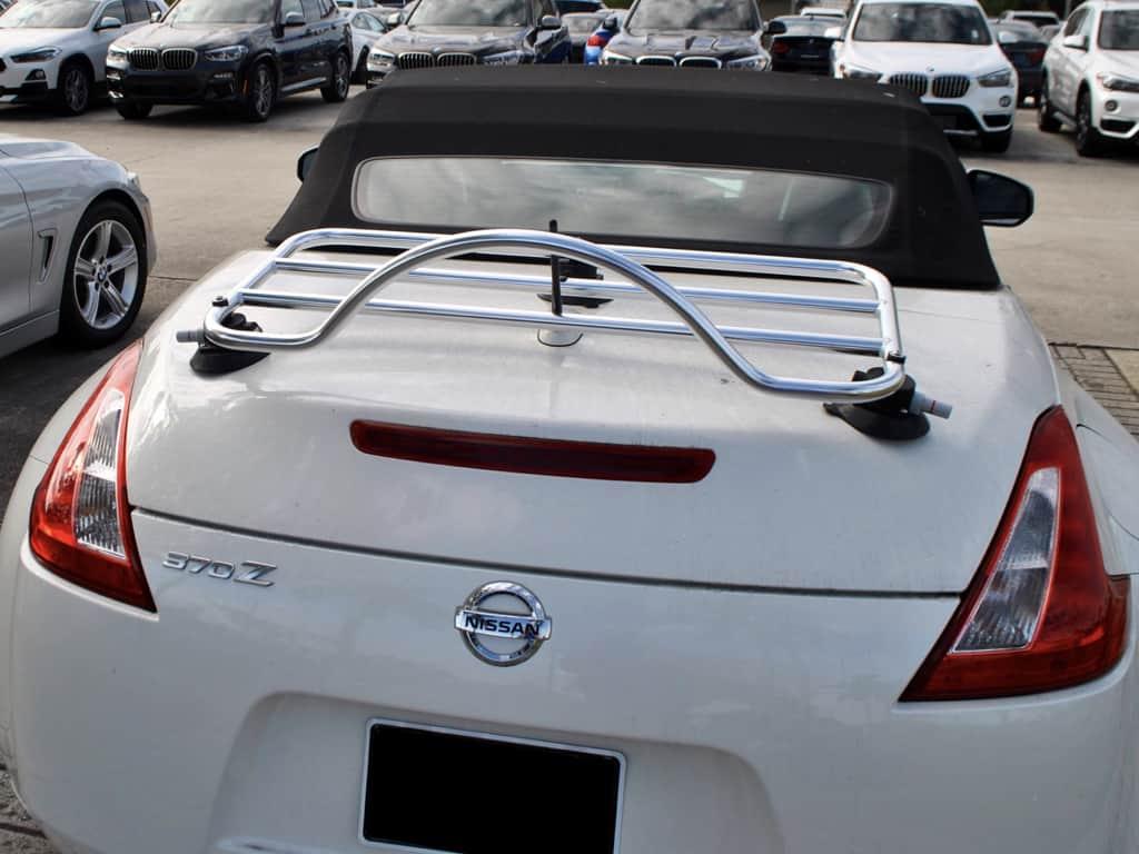 honda s2000 stainless steel luggage rack