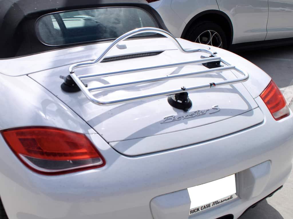 porsche boxster chrome luggage rack