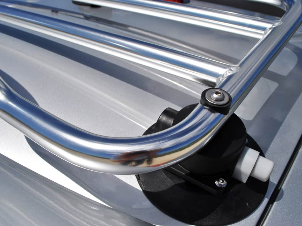 corvette stainless steel luggage rack