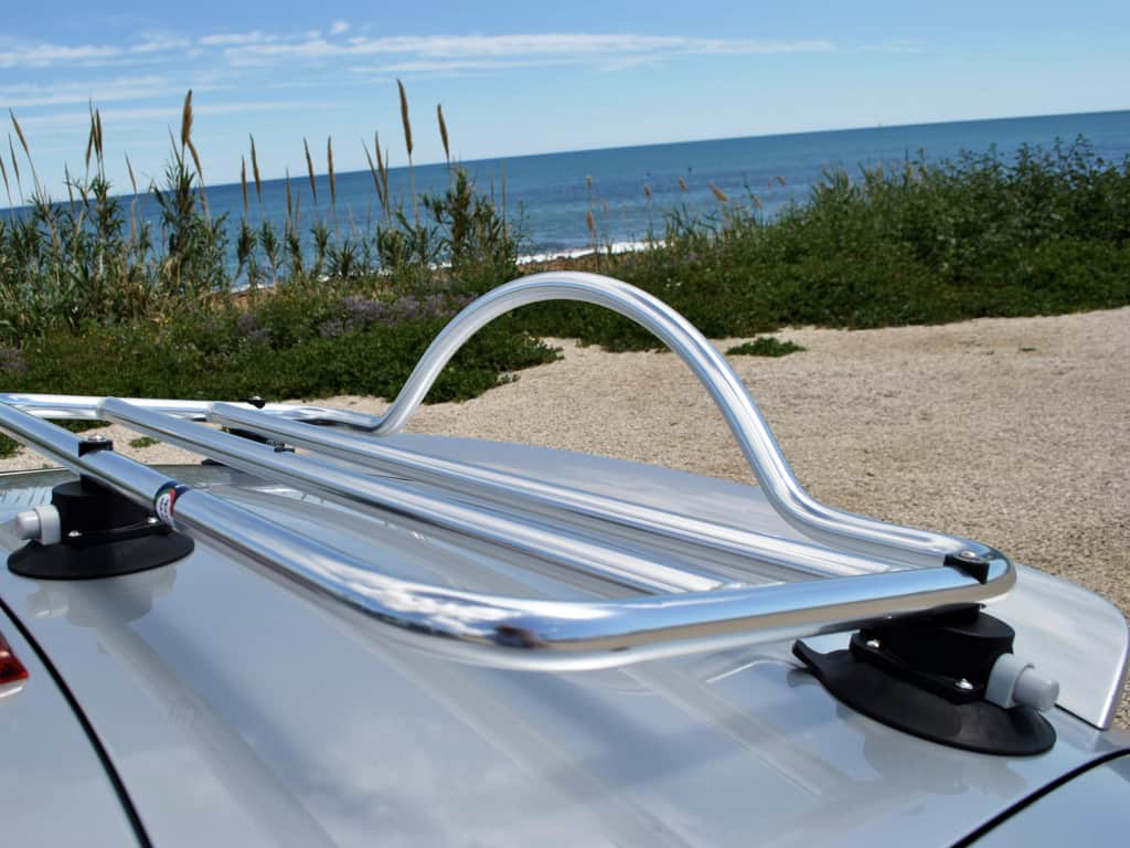 audi tt mk2 roadster stainless steel luggage rack rack