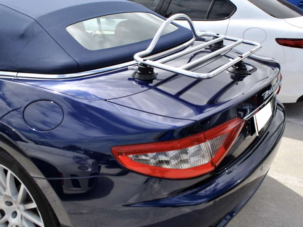 revo rack stainless steel luggage rack for Aston Martin