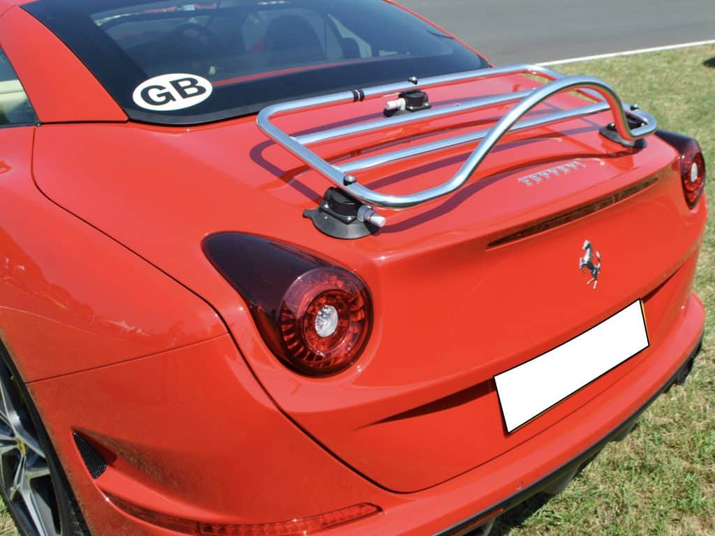 ferrari luggage rack