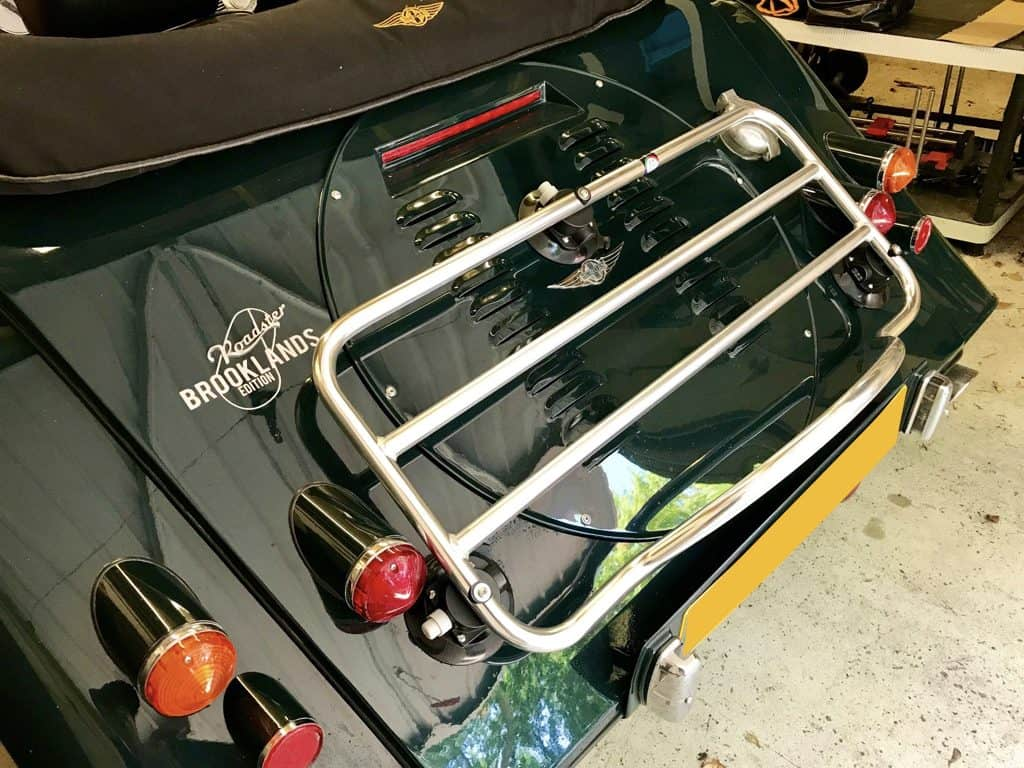morgan roadster luggage rack