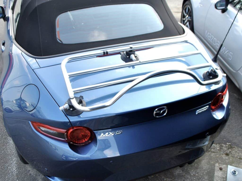 mazda mx5 nd mk4 luggage rack stainless steel