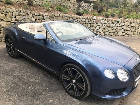 bentley continental porte bagages