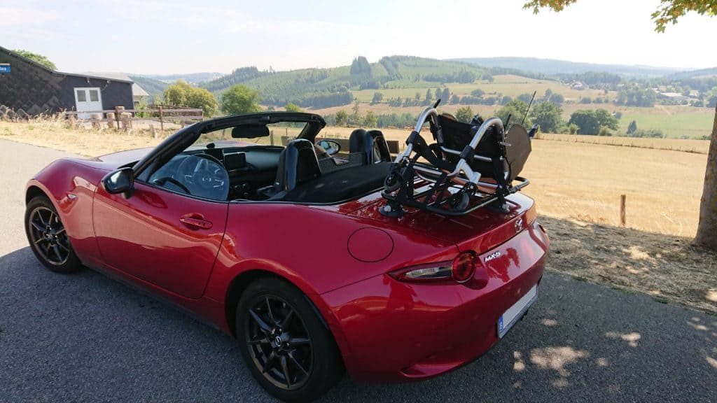 mazda mx5 porte-bagages 2016 2017 nd