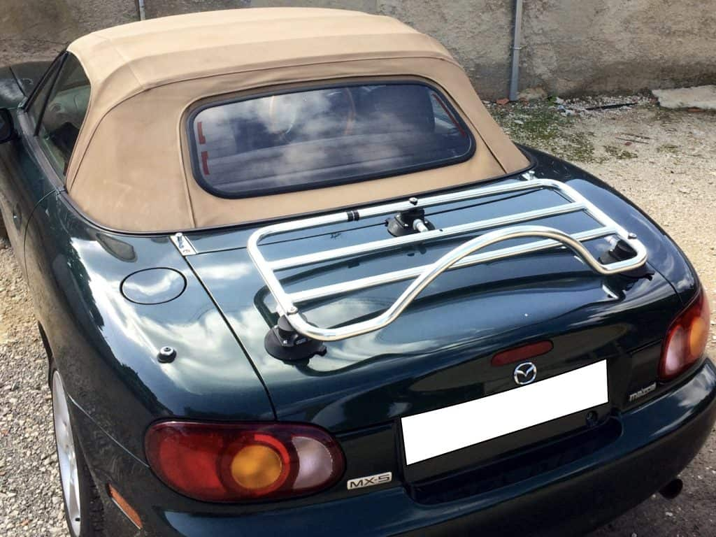 mazda mx5 mk2 boot rack