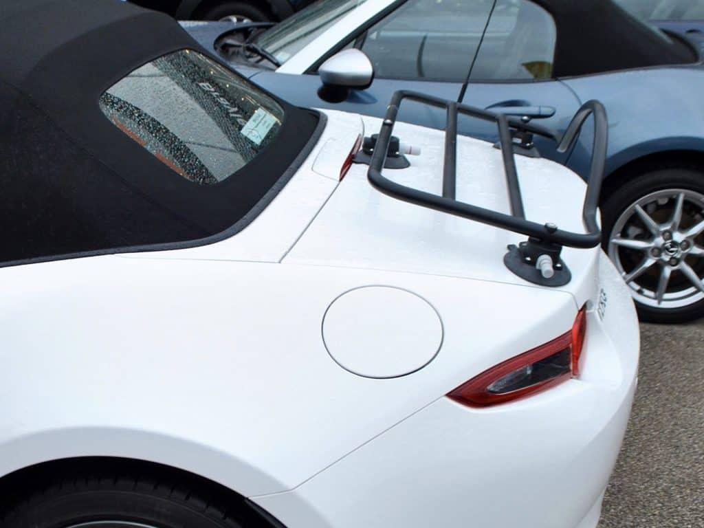 Mazda mx5 nd porte bagages pas de pinces aucun dommage la peinture - Porte bagage mx5 occasion ...