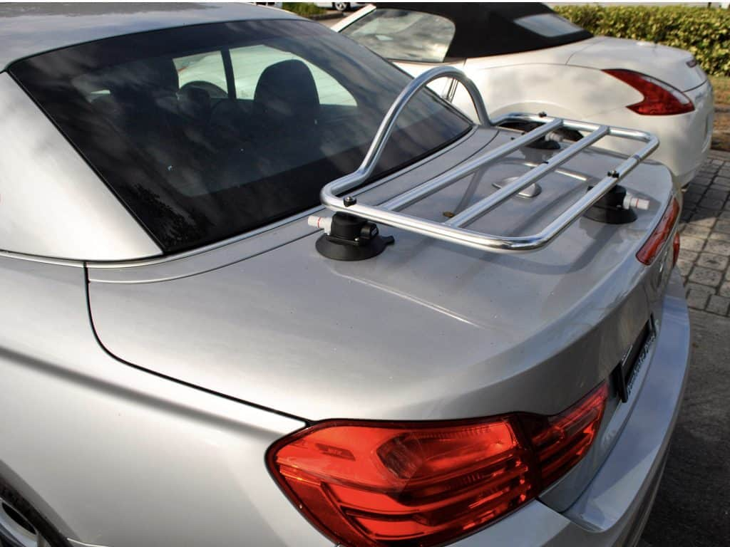 revo-rack luggage rack fitted to bmw 4 series convertible